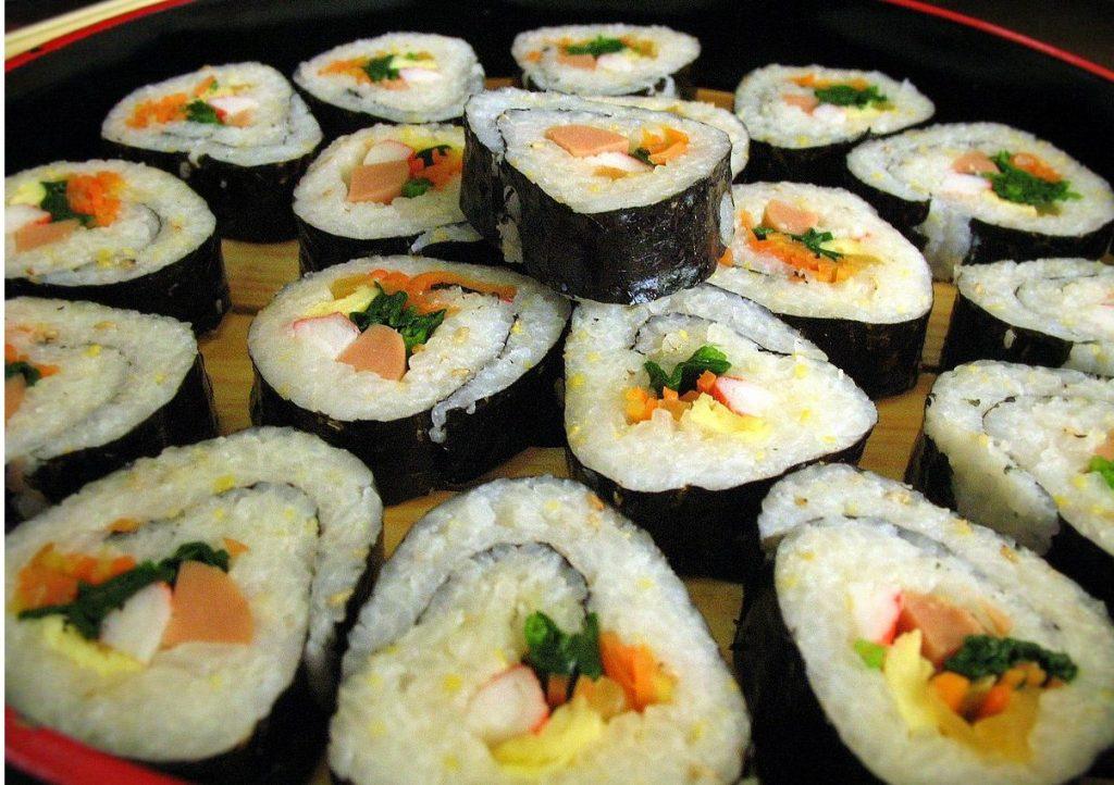 Kimbap Makanan Korea Halal