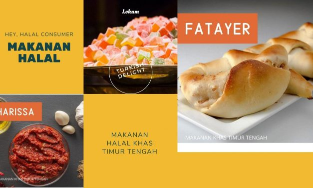 31 Rekomendasi Makanan Halal Khas Timur Tengah yang Mendunia