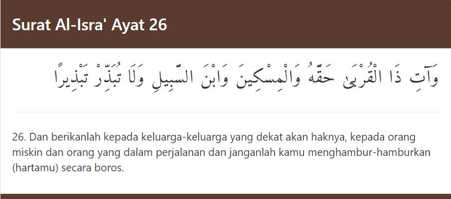 prinsip distribusi nafaqat wajibah